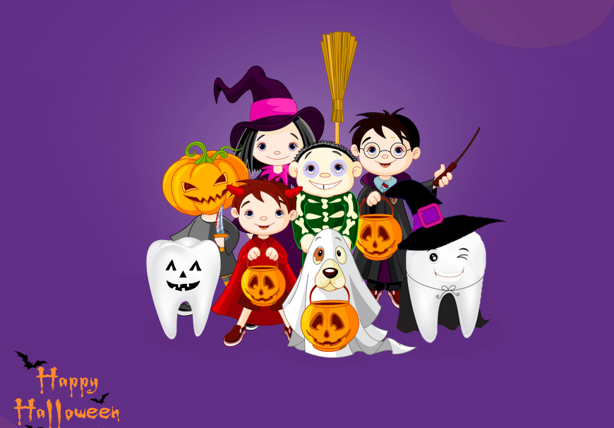 Surviving Halloween: Tips for Taking Care of Your Child's Teeth!